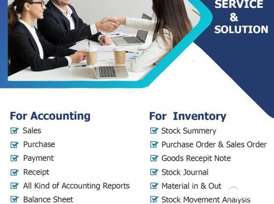 Tally Accounting Software Service in Doha, Qatar