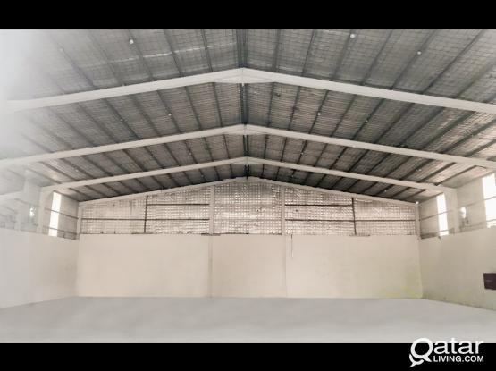 In Industrial Area Store Space (600 SQM) For Rent... BOOK NOW..