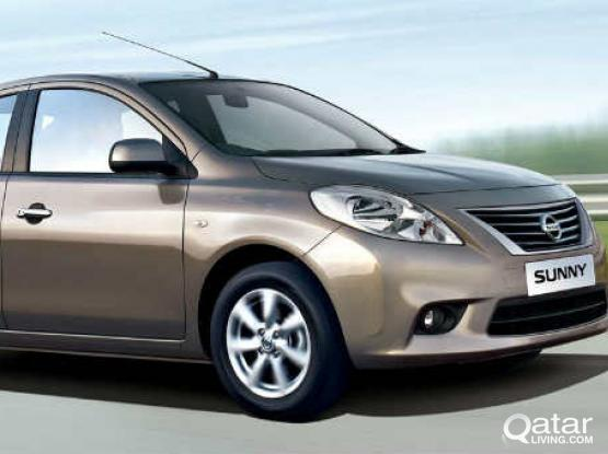 Nissan Sunny 2016 Model For Rent : 44152020/30177928(WhatsApp)