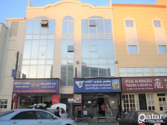 OFFICE SPACE IN NAJMA NEAR JAWAHAR RESTAURANT / KUWAITI BUILDING