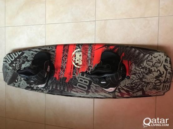 Wakeboard and binding + Board Bag