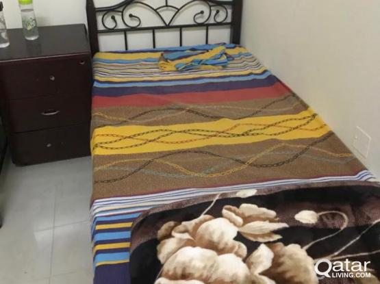 Fully Furnished Bed Space at Hilal behind The Mall