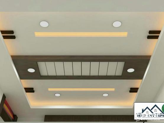 Gypsum Board & Ceiling Work Indian 70245680