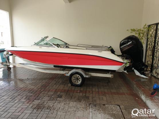 18 foot SeaRay 175 Sport Mercury 150hp Outboard 2012