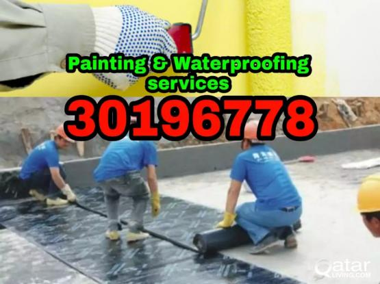 Painting and water proof service call 30196778