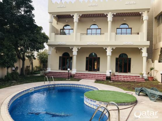Spacious and Beautiful 6 Bedroom villa available at west bay lagoon
