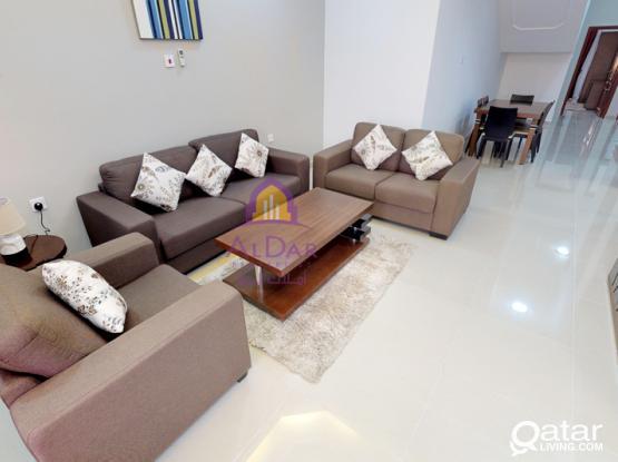 Three bedroom furnished units in Al Thumama- AlDar Valley