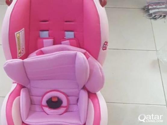 Baby car seat, brand new,- Hello Kitty brand