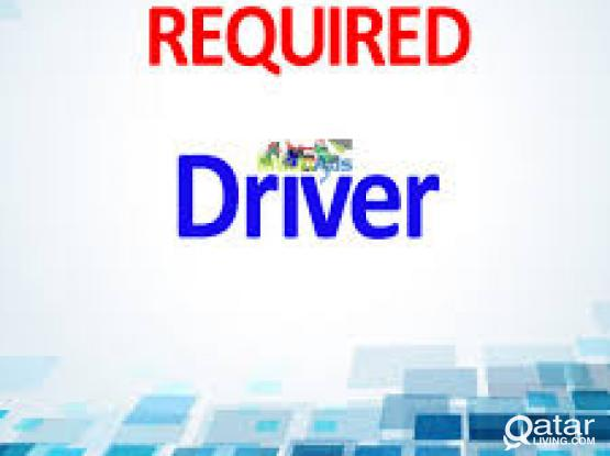 LOOKING FOR A DRIVER ON URGENT BASIS FOR PICK AND DROP