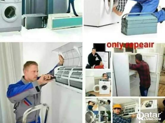 Fridge repair and Ac services and maintenance  fixing work.77160307
