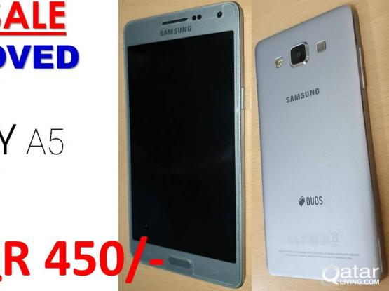 Samsung Galaxy A5-WHITE (Used-no issues)