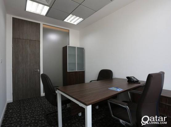 12 SQM Office Space - 2 Months Free! Furnished+Trade License Offices In C-Ring Road!