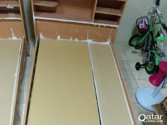 single wood heavy bed frame 100 qr