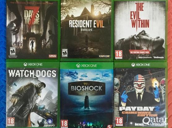 Xbox One games Bundle 2