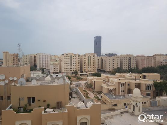 2 Bacholer rooms for rent in al Thani compound