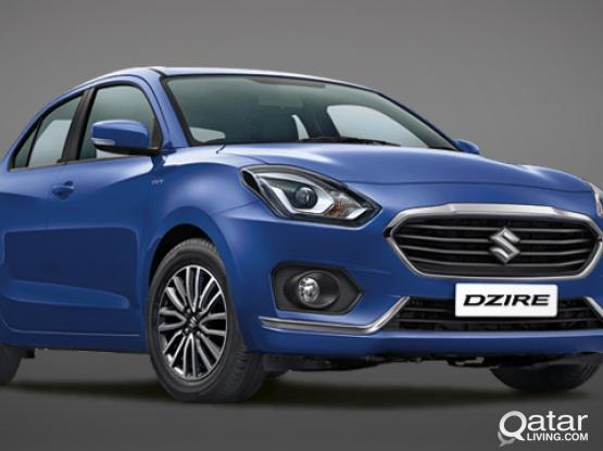 WEEKLY BASICS OFFER FOR SWIFT AND DZIRE 2019 MODEL ONLY 490 QAR-CALL 50399151/44182020