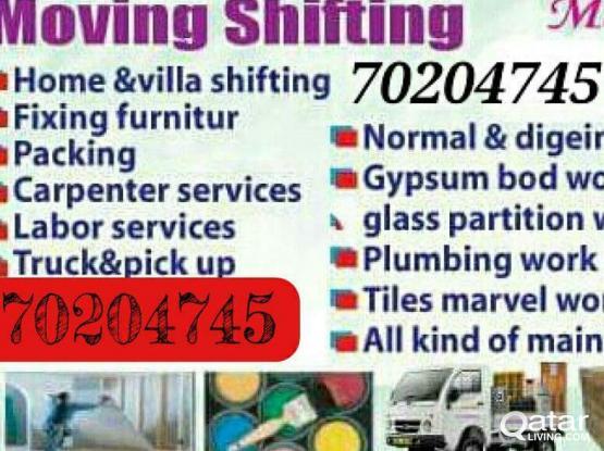 66436558 Moving shifting carpenter painting partition plumbing maintenance work 70204745