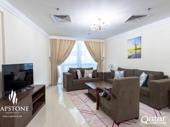 FREE 1 MONTH!! FF 3BR + Maid's Room, New Tower in West Bay