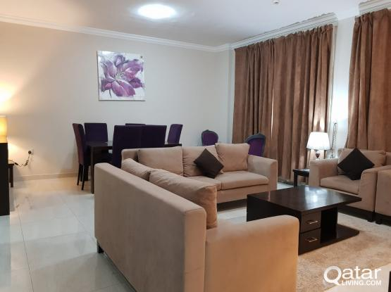 2 BHK Hotel Featured Fully Furnished Family Apartment at Old Ghanim