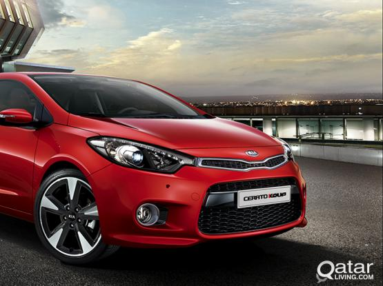 BUDGET CAR !! KIA CERATO!! FOR RENT : 44152020/30177928/30100316(WhatsApp)