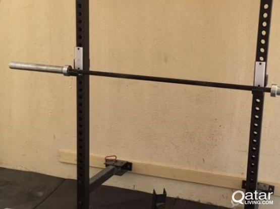 Wall Mount Foldable Gym Rack