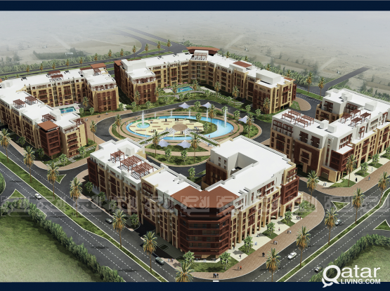 Luxurious 2-Bedroom Apartment In Lusail( AMR-2R)
