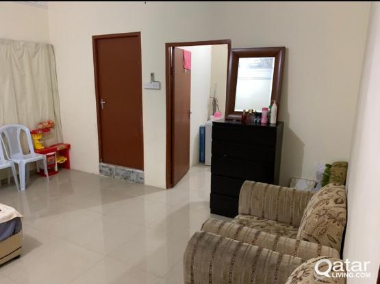 1 bedroom family accommodation