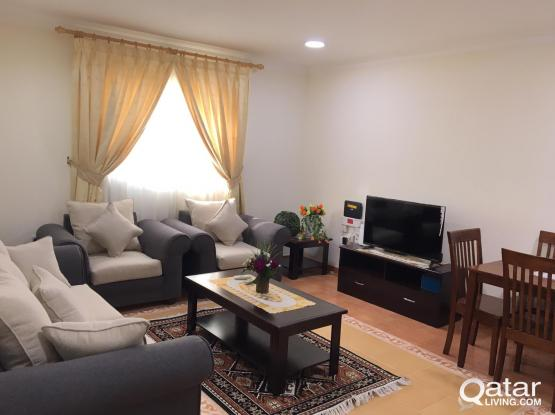 """""""One Month Free"""" No Commission Fully Furnished 2 Bhk Apartment Old Salatha Behind Al Bustan Hotel"""
