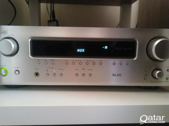 Denon DRA 500ae receiver amplifier
