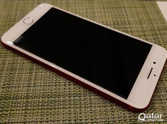 Iphone 7 Plus  Red Colour - 128GB