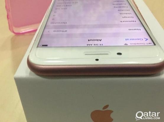 iPhone 7 rose 256