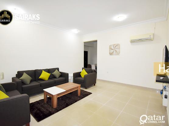 Spacious Fully Furnished 2BHK Apartment available in Al Mansora