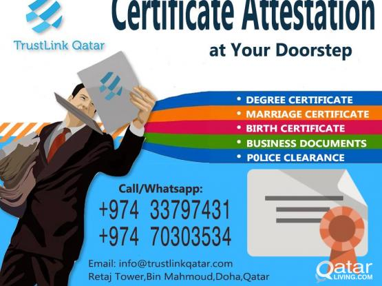 Certificate/ Document Attestation at Affordable price