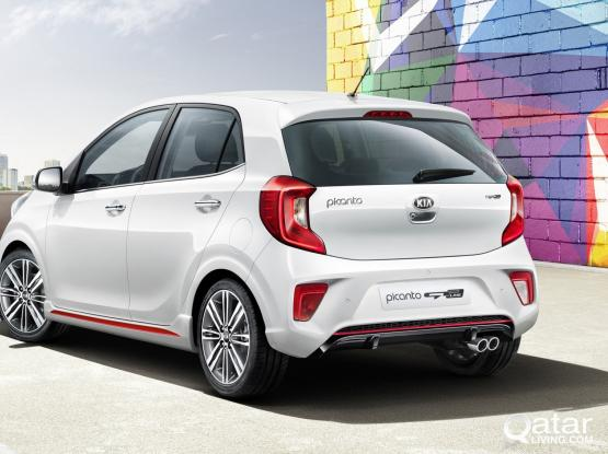 KIA PICANTO 2019 MODEL OPEN OFFER 385 QR ONLY FOR 7 DAYS(55 QAR PER DAY) CALL-50399151/44182020