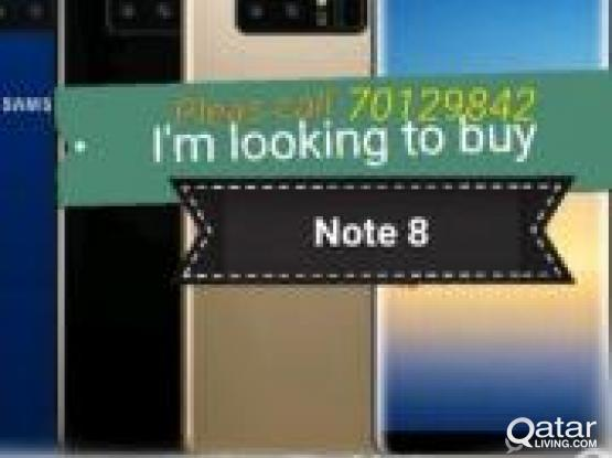 Wanted note8 or note9