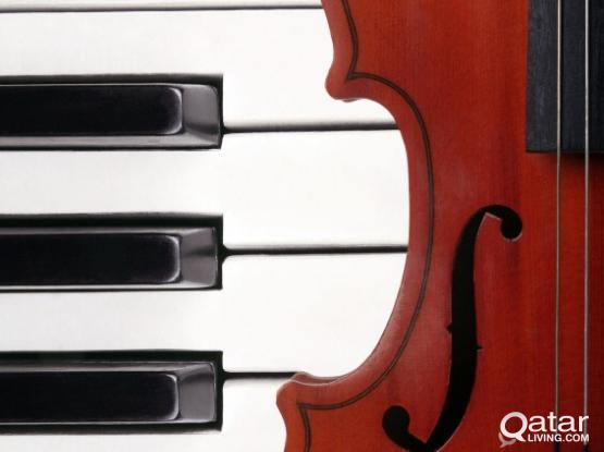 Home service for piano and violin lesson