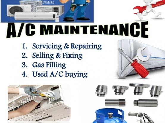 Maintenance, We buy and sell used Ac and repair. Please call 77057381 or 55430937