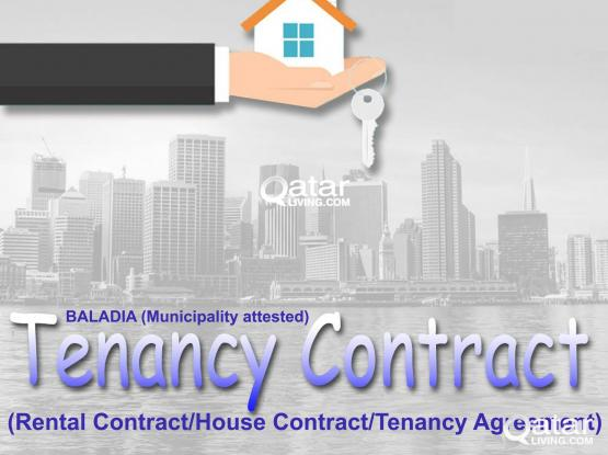 30730359-Very Low Price Tenancy Contract For Family Visa & health card Baladiya(Municipality Attested)