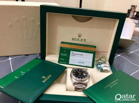 Rolex Oyster Perpetual Datejust (still under warranty)