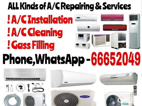 a/c sell,servicing,repairing and buying.