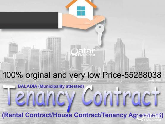 55288038-Very Cheap Price Tenancy Contract 100% Baladiya Attested For Family Visa/Health card.