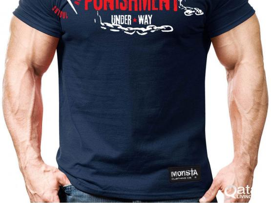 GYM T-SHIRTS MONSTA BRAND