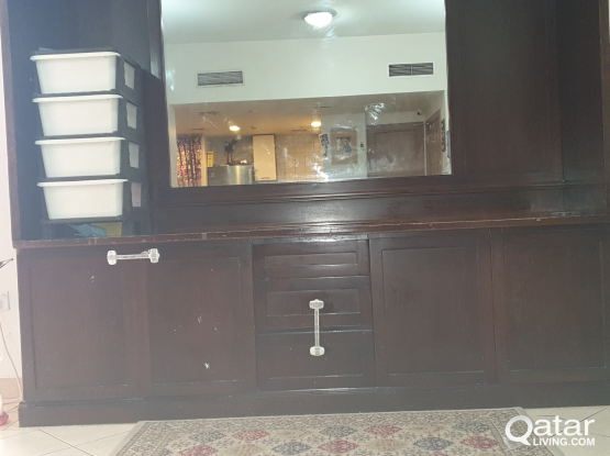 luxurious dining cabinet