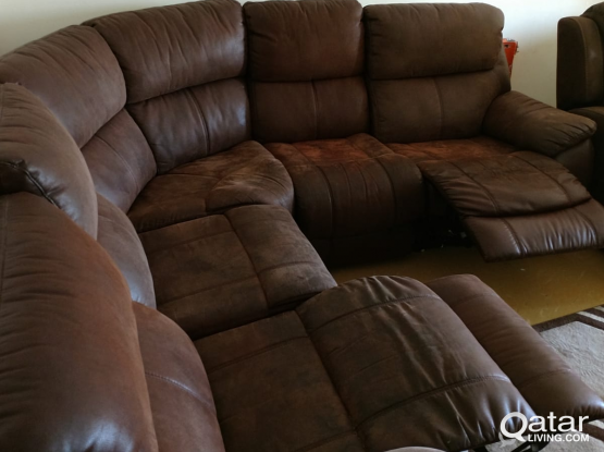 l sofa  recliner from home center