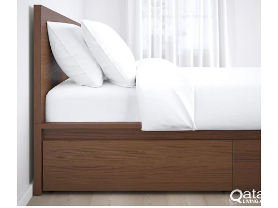 Ikea Malm Bed Queen Size