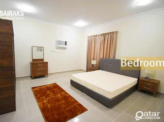 Beautiful, Spacious, Fully Furnished 3 BHK Apartment available in Al Mansora