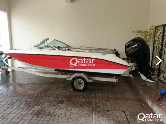 Boat 18ft Outboard 2013