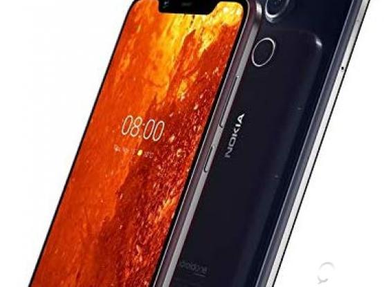 Nokia 8.1 6GBRam ,128 Rom Box Piece 1500.00