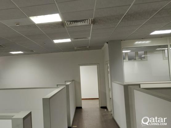 "SPACIOUS OFFICE AVAILABLE AT AL MUNTAZA (VERY CLOSE TO ""C""RING ROAD)"