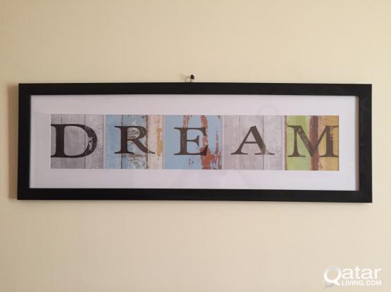 Dream Black Framed Photgraphic Print